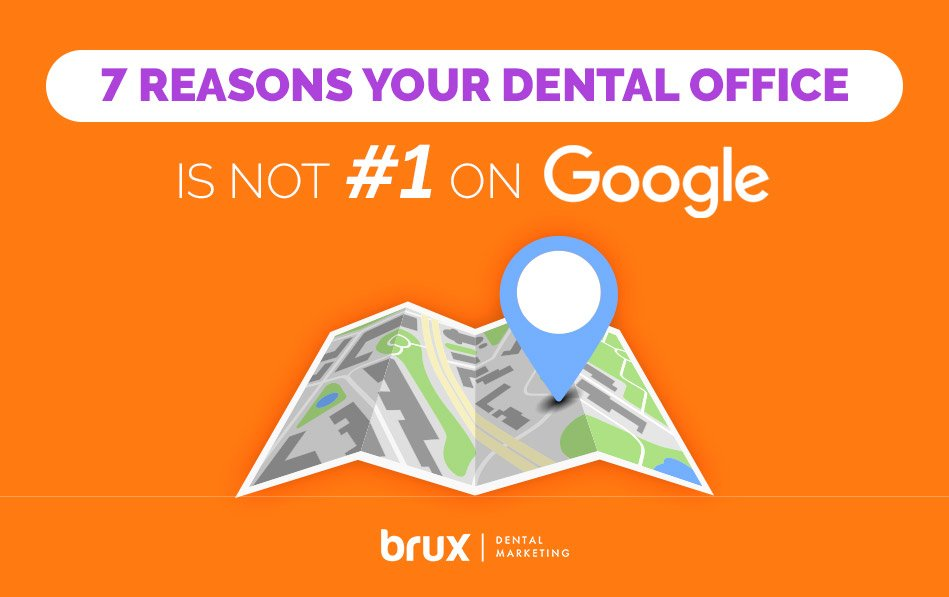 7 Reasons Your Dental Office is Not #1 On Google